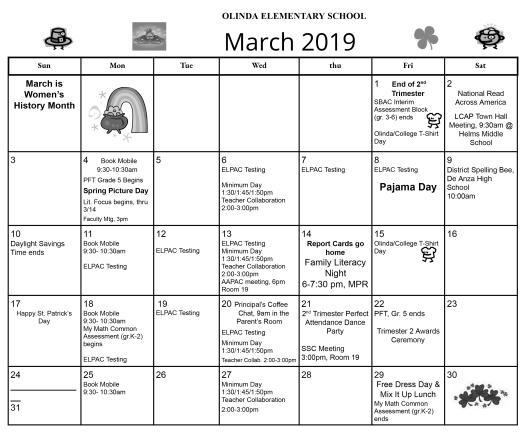 March Calendar 2019 - Google Docs (2)